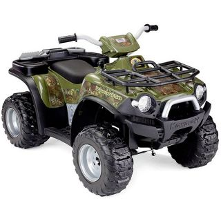 Fisher Price Power Wheels Kawasaki Brute Force Camo