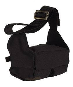 Fendi Black Fabric Fanny Pack with Pouch Pockets