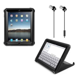 Otterbox Defender Black iPad 2 Protective Cover and Delton Silver