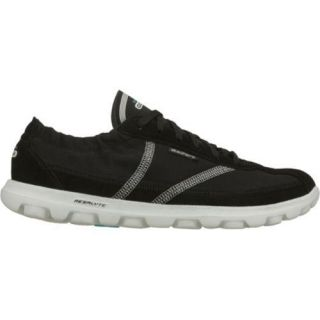 Womens Skechers GOwalk Nice Black/White