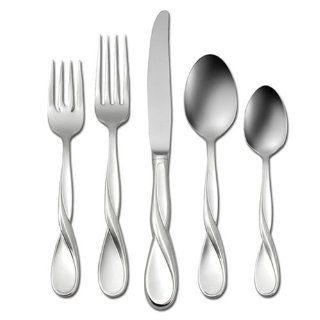 Oneida Aquarius 20 Piece Stainless Flatware Set , Service