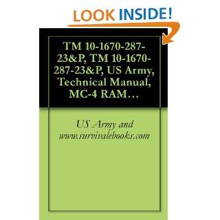 TM 10 1670 287 23&P, TM 10 1670 287 23&P, US Army, Technical Manual