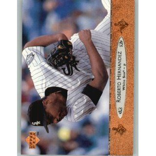 1996 Upper Deck #304 Roberto Hernandez   Chicago White Sox