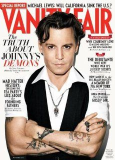 Vanity Fair (November 2011) Magazine (Johnny Depp Cover Feature