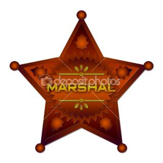 Marshal badge  Stock Photo © Stasys Eidiejus #2287345