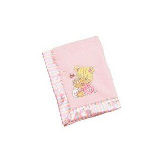Precious Moments Plush Blanket with Satin Trim Everything