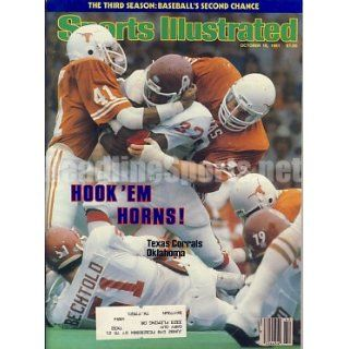 1981 Texas Longhorns vs OU Sooners Sports Illustrated