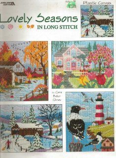 Lovely seasons in long stitch: Plastic canvas: Conn Baker Gibney