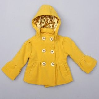 Dollhouse Toddler Girls Wool Hooded Jacket FINAL SALE