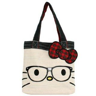 Hello Kitty Nerd Face Tote [Toy] Toys & Games