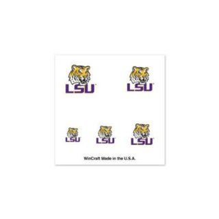 LSU Tigers Official Logo Fingernail Tattoos Sports