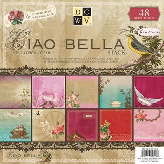 Ciao Bella Paper Stack 12X12 48 Sheets