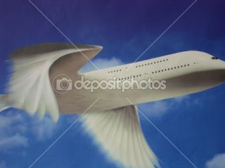 Fly airplane wings  Stock Photo © Dmytro Gubariev #2833325