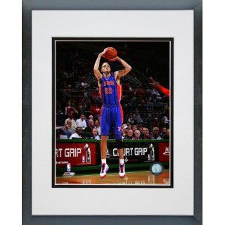 Tayshaun Prince Detroit Pistons   NBA Framed and Matted Photo   2011