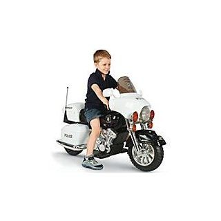 kids electric battery operated police ride on motorcycle model 166GT