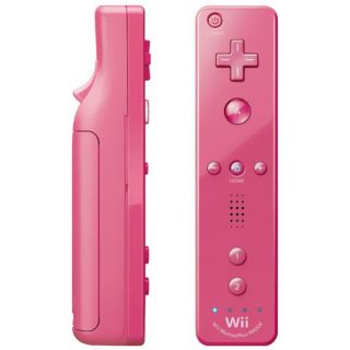 Wii MotionPlus Remote Controller (Pink) (Refurbished)