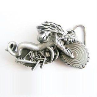 Dragon Riding Motorcycle Belt Buckle Sports & Outdoors