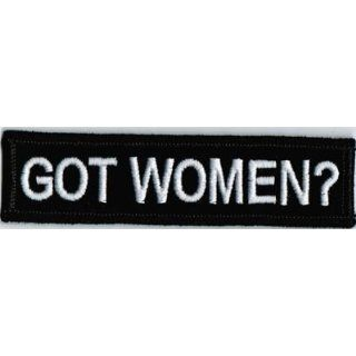 GOT WOMEN? Funny Quality Embroidered Motorcycle BIKER Vest