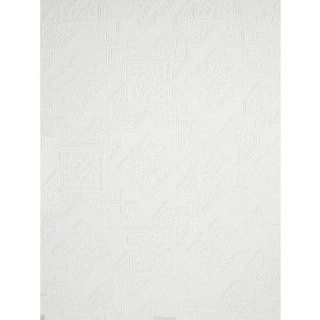 Imperial VP131612 Tin Ceiling Paintable Wallpaper