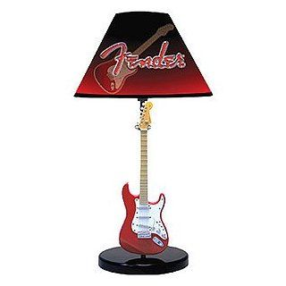 Fender Stratocaster Guitar Table Lamp Home Improvement