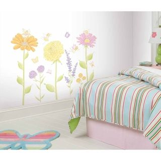 RoomMates Fairy Garden Peel & Stick Mega Pack Wall Decal