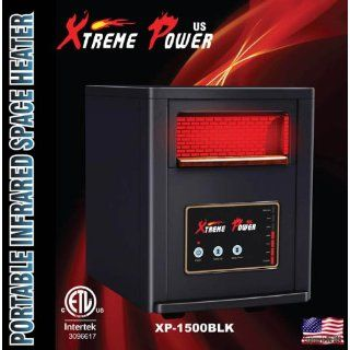 XtemePower 1500W Quartz Infrared Heater