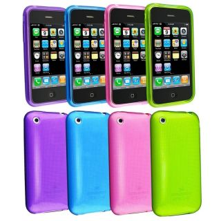 piece TPU Rubber Cases for Apple iPhone 3G/ 3GS