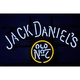 NEW Jack Daniels Old #7 Whiskey Beer Bar Neon Light Sign