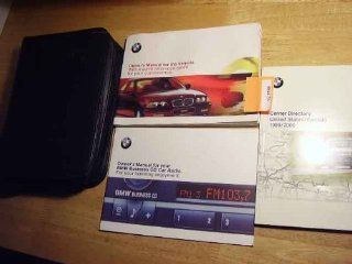 2000 BMW 323i, 328i, 3 Series Owners Manual BMW Books