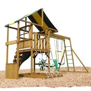 Play Time Andover Outdoor Swing Set Compare $1,301.19 Today $1,050