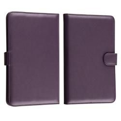 Purple Leather Case for Barnes & Noble Nook/ Nook Color