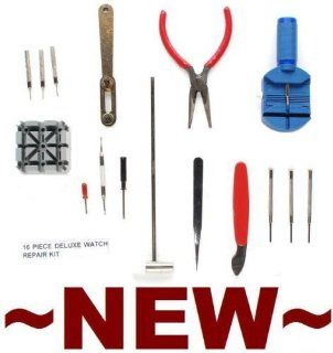 Wrist Watch Strap / Pin Repair Kit   16 Tools Watches
