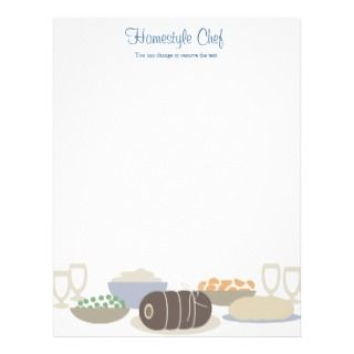 dinner homestyle cooking menu letterletterhead