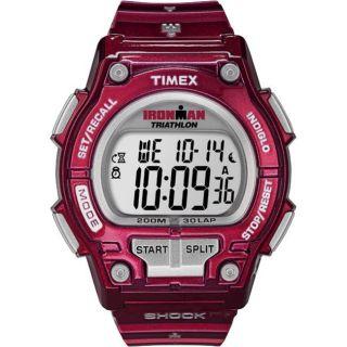 Timex Womens Sport Ironman Cherry Shock 30 lap Watch