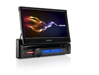 Lenco CS 470 DVD Auto Radio (17,8 cm (7 Zoll) LCD Display, AM/FM, DVD