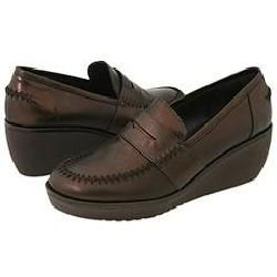 Donald J Pliner Nia2 Expresso Antique Metallic Loafers