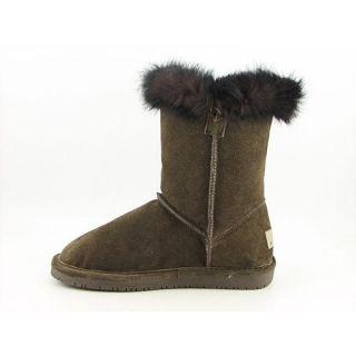 Bearpaw Womens Mackenzie Brown Boots