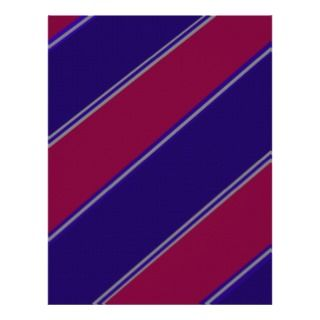 purple violet diagonal stripes letterhead design