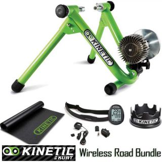 Kinetic Road Machine Fluid Bicycle Trainer with Wireless Power