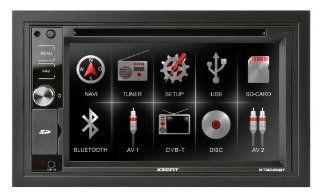 Xzent 2 Din Naviceiver Bluetooth Xt9026Bt Navigation & Car