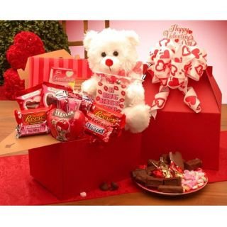 Valentines Chocolates Care Package Gift Box