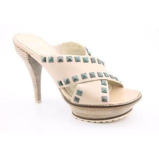 Lisa For Donald J Pliner Womens Ivory Beiges Sandals (Size 8.5