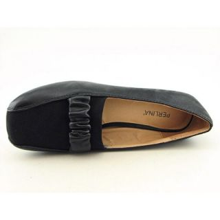 Perlina Womens Babs Pb Black Flats & Oxfords (Size 5.5)
