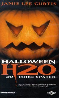 Halloween H20 [VHS] Jamie Lee Curtis, Adam Arkin, Josh Hartnett