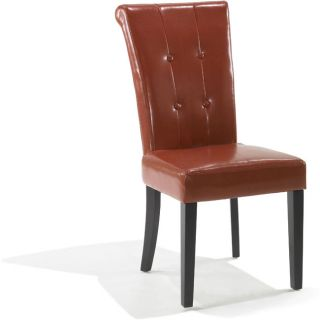 o modern Burnt Orange Dining Chairs (Set of 2)