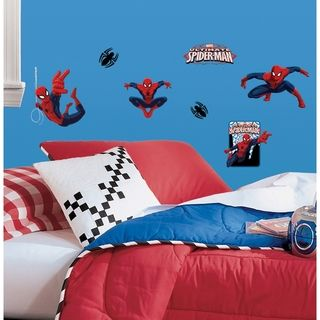 Roommates Ultimate Spider Man Peel & Stick Wall Decals
