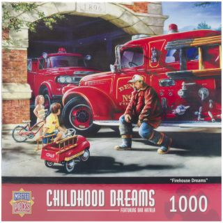 Firehouse Dreams 1000 piece Jigsaw Puzzle