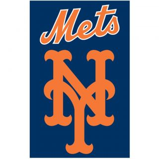 New York Mets Nylon Banner Flag Today $30.99