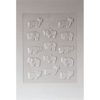 Paderno Animal 1.625 inch Chocolate Mold