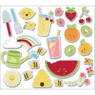 Imaginisce Berrylicious Juicy Fruits Die Cuts